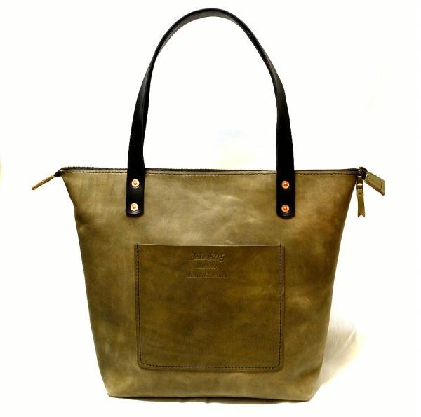 кожена чанта