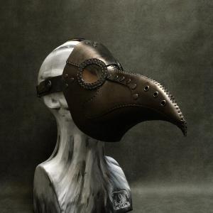 Кожена маска Doctor plague