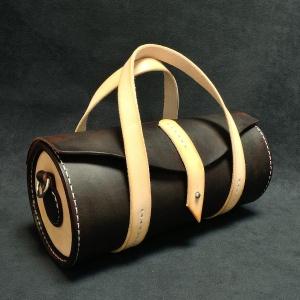 Кожена чанта Barrel